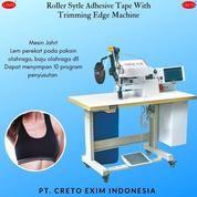 Mesin Jahit Lishi Roller Style Adhesive Tape With Trimming Edge Untuk Tepi Pakaian