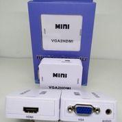 Konverter VGA To HDMI With Audio Box Mini
