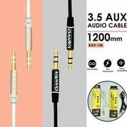Cable Audio VANVO Kabel AUX 1in1 Audio KAV - 1M 3.5mm