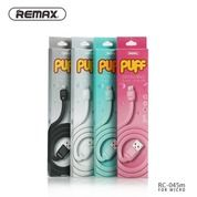 Remax Cable Data & Charging For Micro USB Puff Series Original