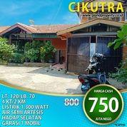 Rumah Cikutra Dekat Pusat Kota Bandung.