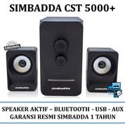 Speaker Aktif Simbadda CST 5000+ - Bluetooth, USB, Radio, AUX In