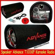 T101BT Speaker Subwoofer Advance Bluetooth Karaoke Radio T101 BT