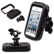 Holder HP GPS Stang Sepeda / Motor Waterproof Anti Air 5.5""