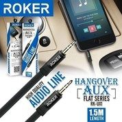 Kabel Audio ROKER Hangover Flat Series AUX Cable Audio Line 3.5mm 1.5M