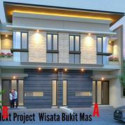 Rumah Baru 2 Unit Kembar Di Wisata Bukit Mas, Surabaya