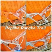 Replika Rangka Motor Trail.