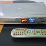 Dvd Player Merek Divega Plus Kabel Dvd Dan Baterai Remote