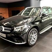 Mercedes Benz GLC200 AMG 2019 Hitam Promo Leasing Tdp20% Harga Terbaik   Dealer Resmi