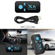 New X6 Bluetooth Music Audio Receiver Support TFmicroSD