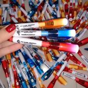 Souvenir Pen Dengan Lampu Led