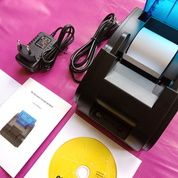 Printer POS Thermal 58mm Support Bluetooth & USB