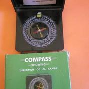 Kompas Kiblat Hitam