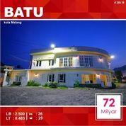 Hotel 26 Kamar Luas 8.483 Di Brantas Sisir Kota Batu Malang _ 249.19
