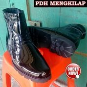 Sepatu PDH TNI Polisi Polri PNS / Sepatu Dinas / Sepatu Kerja / Sepatu Pantofel