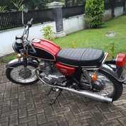 Motor Honda Cb200 1975