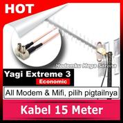 Antena Modem & Mifi Yagi Extreme 3 Banyak Testimoni