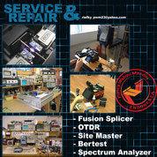 Service Splicer, Service OTDR, Dan Kalibrasi OTDR Bersertifikat