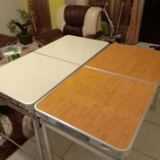 Meja Lipat Untuk Meja Santai, Meja Warkop, Meja Belajar, Ataupun Buat Pedagang Kaki Lima.