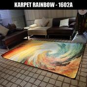 Karpet Rainbow Abstract Waves 160 X 230 Cm