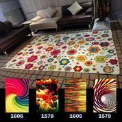 Karpet Rainbow Flower Colour 160 X 230 Cm