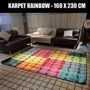 Rainbow Modern Colour Bambo 160 X 230 Cm Dekorasi Rumah