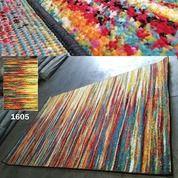 Promo Karpet Lantai Permadani Rainbow 1605 Bulu Lembut