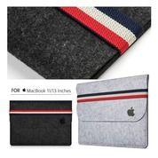 Sleeve Woolen Felt Case I-Pad & Laptop 11 - 13 Inches