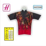 Baju Batik Laki Laki, Batik Pria, Koleksi Baju Batik, HM303HMB