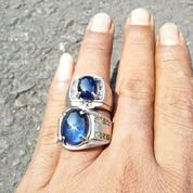 Blue Sapphire Sepasang