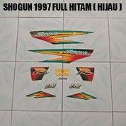 Striping Shogun 1997 Full Hitam ( Hijau )