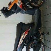 Motor Bekas Bandung Kota Honda Beat 2014 Sporty Hitam Orange Pajak Baru Setor