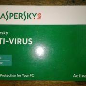Kaspersky Anti Virus 2019 Lisensi Original 1 Tahun/User Untuk PC/Laptop Murah
