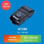 Promo Printer Portable AT 280 Aplikasi Kasir Kekinian Free 1 Tahun