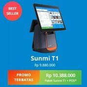 Free Ongkir   Alat Kasir SUNMI T1 Free Aplikasi Kasir 1 Thn