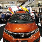 Honda New Jazz RS Two Tone Orange Surabaya
