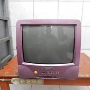 "Tv Sharp LaPiZ 14"" Jernih Mesin Ori Japan Katapang Kab.Bandung"