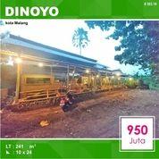 Tanah + Cafe Luas 241 Daerah Joyo Agung Dinoyo Kota Malang _ 303.19