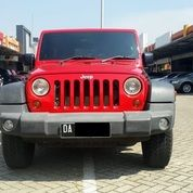 Jeep Wrangler Rubicon 2011 Red
