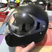 Helm Cakil Murah HBC Pilot Visor Hitam Dop / Doff / Dof