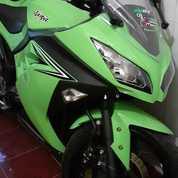Ninja 250 KM Rendah 5300 Tahun 2017/8