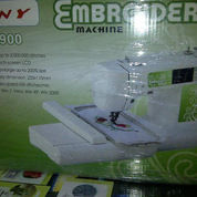 Mesin Jahit Bordir Komputer Computer Cny E900 Sinar Toko Tiga Mesin Jahit Jakarta Kota Asemka