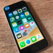 IPhone SE 64GB GREY, Bukan Rekon Fulset Batre 89% No Minus