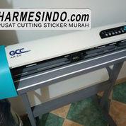 ALAT CETAK STICKER OTOMATIS MURAH PAPUA | Mesin Cutting Plotter Pemotong Stiker Vinyl Polyflex