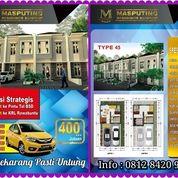 Rumah Ekslusif Masputing Residence Serpong Dekat Stasiun KA