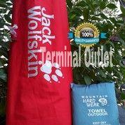 Paket Matras Alumunium Foil + Towel Microfiber 60 X 120