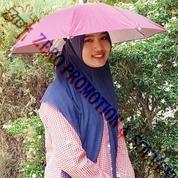 Payung Promosi - Souvenir Topi Payung Kepala