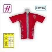 Mode Baju Terkini, Contoh Baju Batik, Baju Kerja Batik, CB063HM