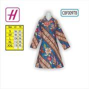 Desain Baju Batik Wanita, Butik Baju Batik, Grosir Batik, CBF009TB