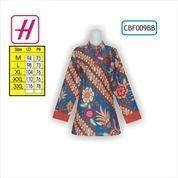 Contoh Baju Batik Modern, Grosir Busana, Busana Kerja Batik, CBF009BB